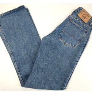 Vintage Blue Comet Jeans Flare Women 27 x 34 New